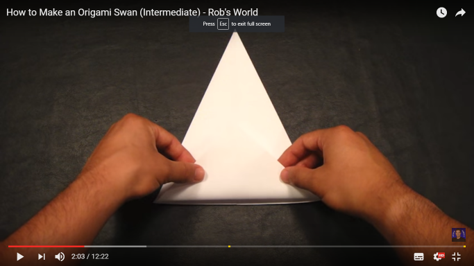 180 Best Origami images in 2020   Origami, Origami paper, Paper crafts   384x683